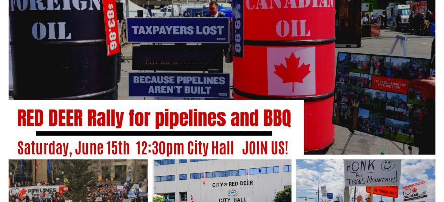 Red Deer Pipeline Rally June 15 2019